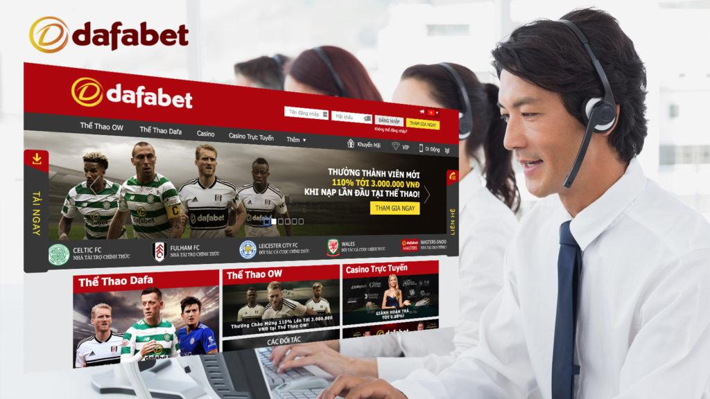 Hỗ trợ Cá độ bóng đá online trên mạng Dafabet