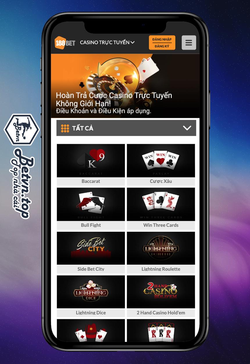 Casino 188bet mobile