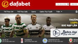 Đăng ký Cá độ bóng đá online trên mạng Dafabet