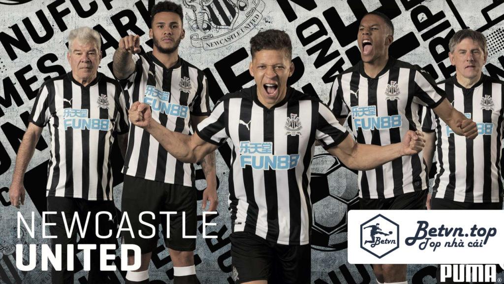 Cá cược bóng đá uy tính tại Fun88 tài trợ cho CLB Newcastle