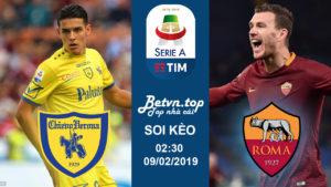 Soi kèo nhà cái Fb88 – Chievo vs AS Roma, 02h30 ngày 09/02: VĐQG Italia