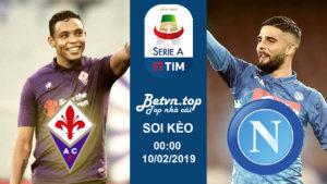 Soi kèo nhà cái Dafabet - Fiorentina vs Napoli, 00h00 ngày 10/02 Serie A
