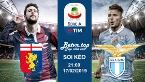 Soi kèo Genoa vs Lazio, 21h00 ngày 17/02 Serie A - Nhà cái M88