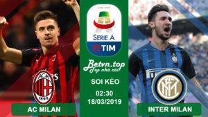 Nhận định AC Milan vs Inter Milan, 02h30 ngày 18/3 (VĐQG Italia)
