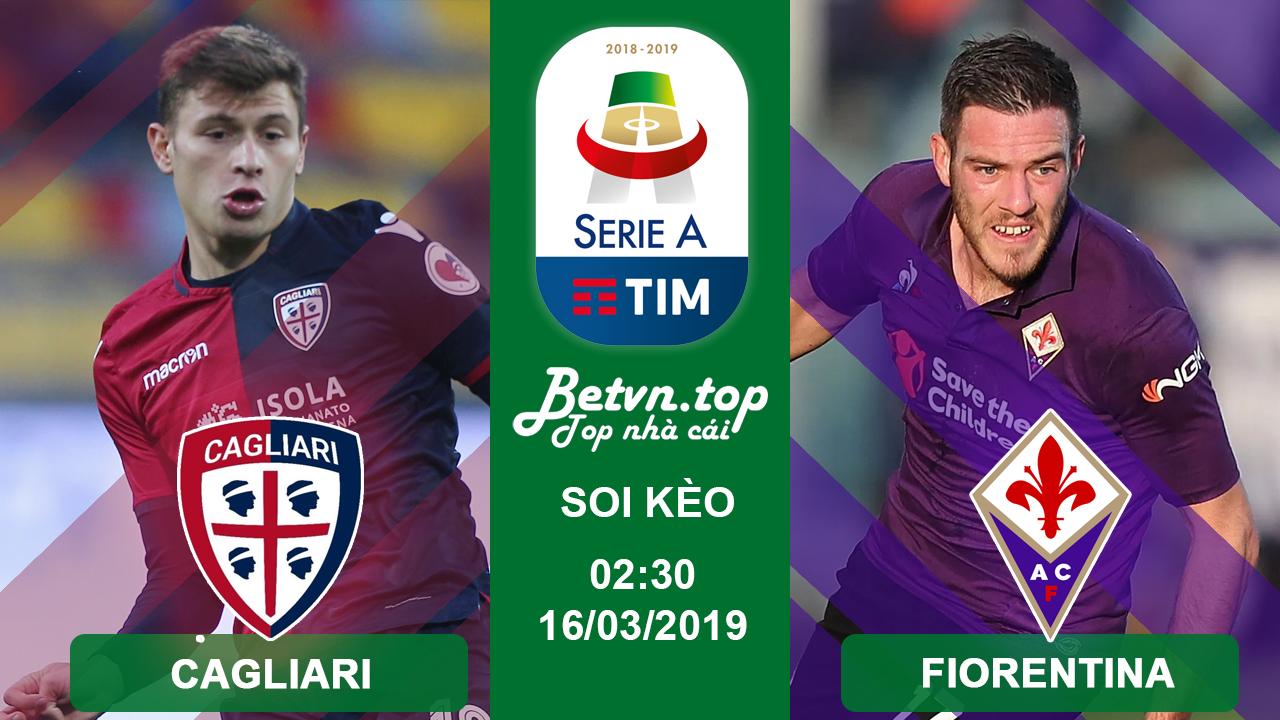 Cagliari Vs Fiorentina Betvn Top
