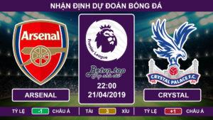 Nhận định Arsenal vs Crystal Palace, 22h00 ngày 21/4 Ngoại hạng Anh