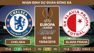 Nhận định Chelsea vs Slavia Praha, 02h00 ngày 19/4 Europa League