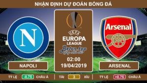Nhận định Napoli vs Arsenal, 02h00 ngày 19/4 Europa League