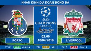 Nhận định Porto vs Liverpool, 02h00 ngày 18/4 Champions League