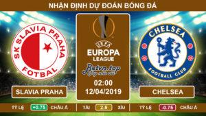 Nhận định Slavia Praha vs Chelsea, 02h00, 12/4/2019 Tứ kết Europa League
