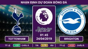 Nhận định Tottenham vs Brighton, 01h45 ngày 24/04 Ngoại hạng Anh