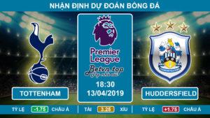 Nhận định Tottenham vs Huddersfield, 18h30, 13/4/2019 Ngoại hạng Anh