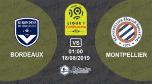 Soi kèo nhà cái Fb88 Bordeaux vs Montpellier, 01h00 ngày 18/08/2019 VĐQG Pháp