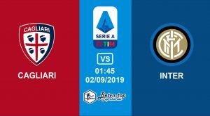 Hướng dẫn cá độ bóng đá qua mạng Cagliari vs Inter Milan, 1h45 02/09/2019 VĐQG Italia