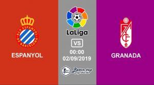 Hướng dẫn cá độ bóng đá qua mạng Espanyol vs Granada, 0h00 2/9/2019 VĐQG Tây Ban Nha