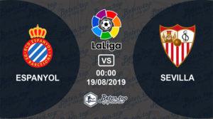 Soi kèo nhà cái Fb88 Espanyol vs Sevilla, 0h00 ngày 19/08/2019 La Liga