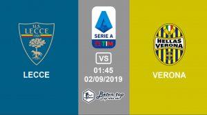 Hướng dẫn cá độ bóng đá qua mạng Lecce vs Verona, 1h45 02/09/2019 VĐQG Italia