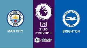 Hướng dẫn cá độ bóng đá qua mạng Man City vs Brighton, 21h00 31/08/2019 Ngoại hạng Anh