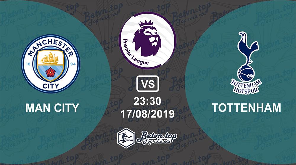 Soi kèo nhà cái Fb88 Man City vs Tottenham, 23h30 ngày 17/08/2019 Ngoại hạng Anh