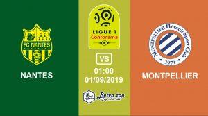 Hướng dẫn cá độ bóng đá qua mạng Nantes vs Montpellier, 1h00 1/09/2019 VĐQG Pháp