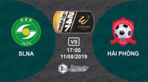 Soi kèo nhà cái W88 SLNA vs Hải Phòng, 17h ngày 11/08/2019 V-League
