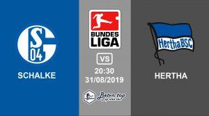 Hướng dẫn cá độ bóng đá qua mạng Schalke 04 vs Hertha Berlin, 20h30 31/08/2019 VĐQG Đức