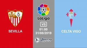 Hướng dẫn cá độ bóng đá qua mạng Sevilla vs Celta Vigo, 1h00 31/8/2019 VĐQG Tây Ban Nha