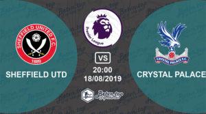 Soi kèo nhà cái Fb88 Sheffield United vs Crystal Palace, 20h00 ngày 18/08/2019 Ngoại hạng Anh
