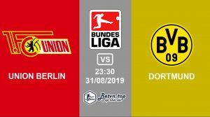 Hướng dẫn cá độ bóng đá qua mạng Union Berlin vs Dortmund, 23h30 31/08/2019 VĐQG Đức