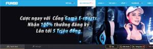 Khuyến mãi nhà cái Fun88 - Thưởng đăng ký 100% tại thể thao Fun88 E-SPORTS