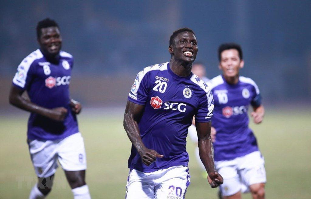 Hà Nội FC đang dẫn đầu bảng xếp hạng V-League 2019