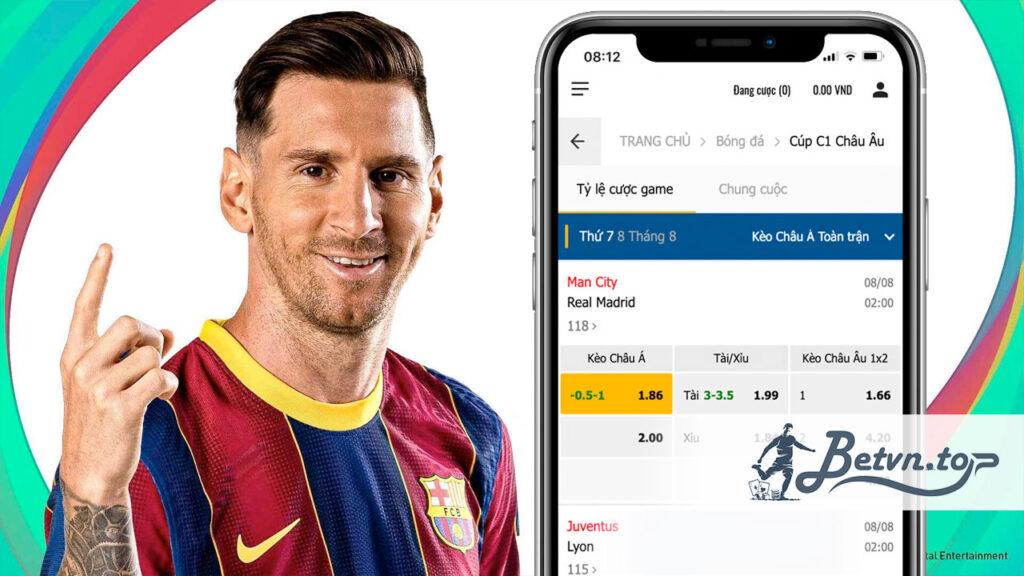 cược bóng đá online uy tín