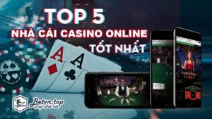 nhà cái chơi casino online tốt nhất