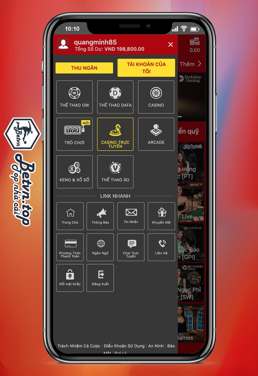 casino trực tuyến dafabet