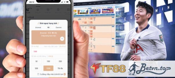 Tỷ lệ kèo bóng đá TF88