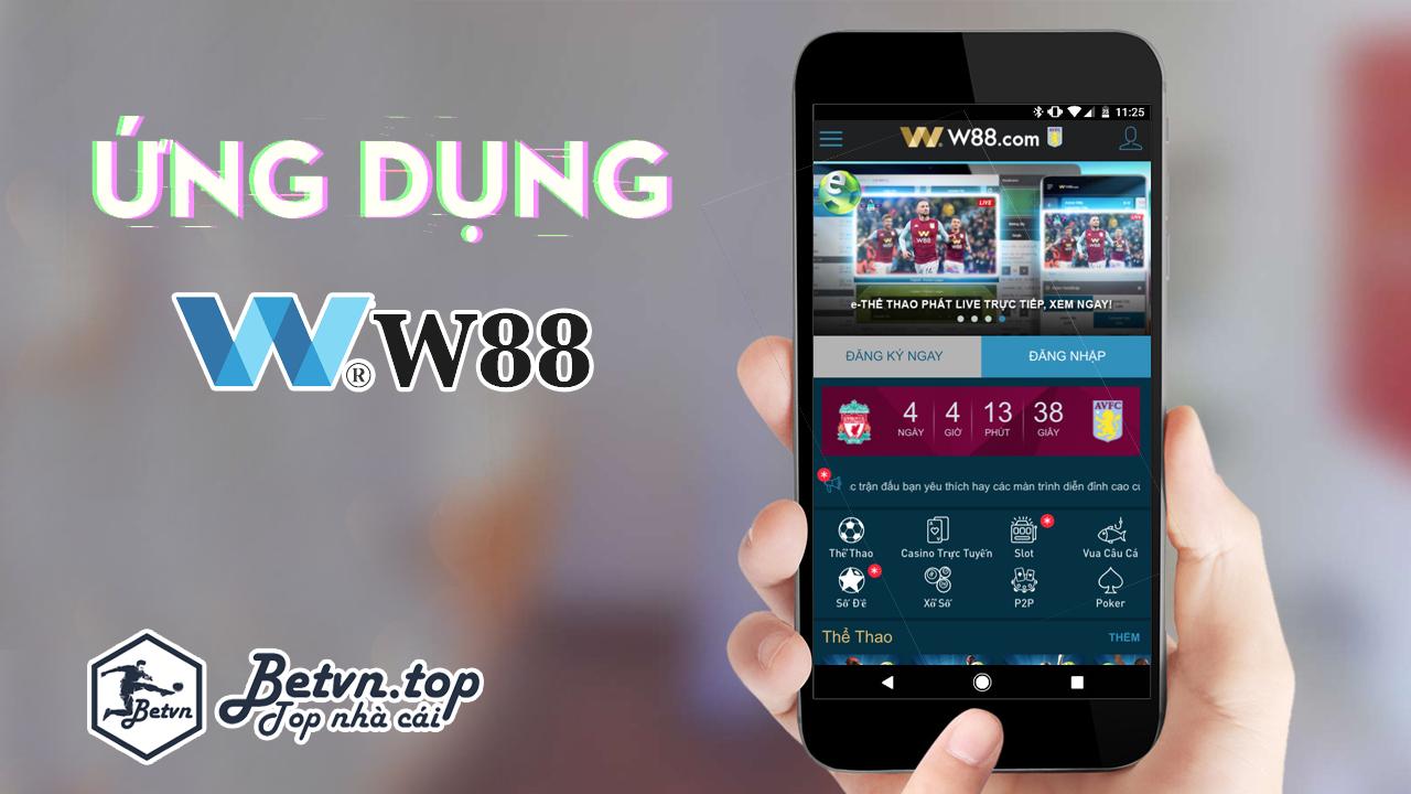tải ứng dụng w88