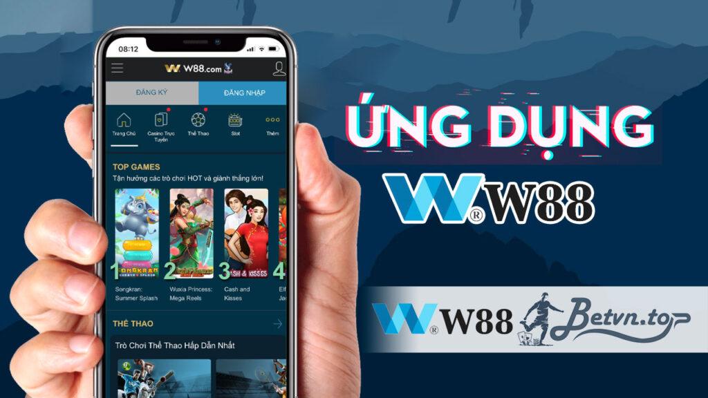 app ứng dụng w88