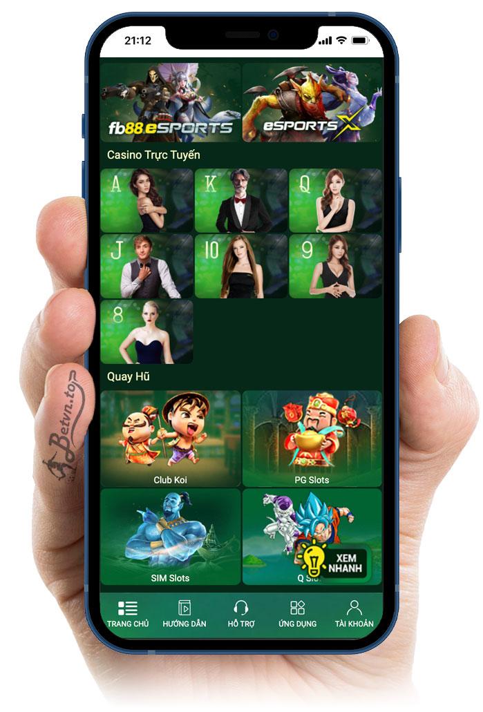 chơi casino fb88