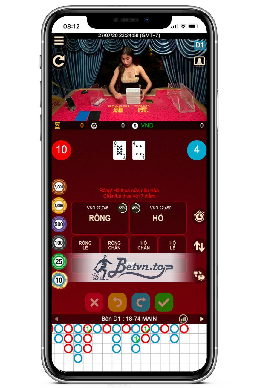 rồng hổ casino w88