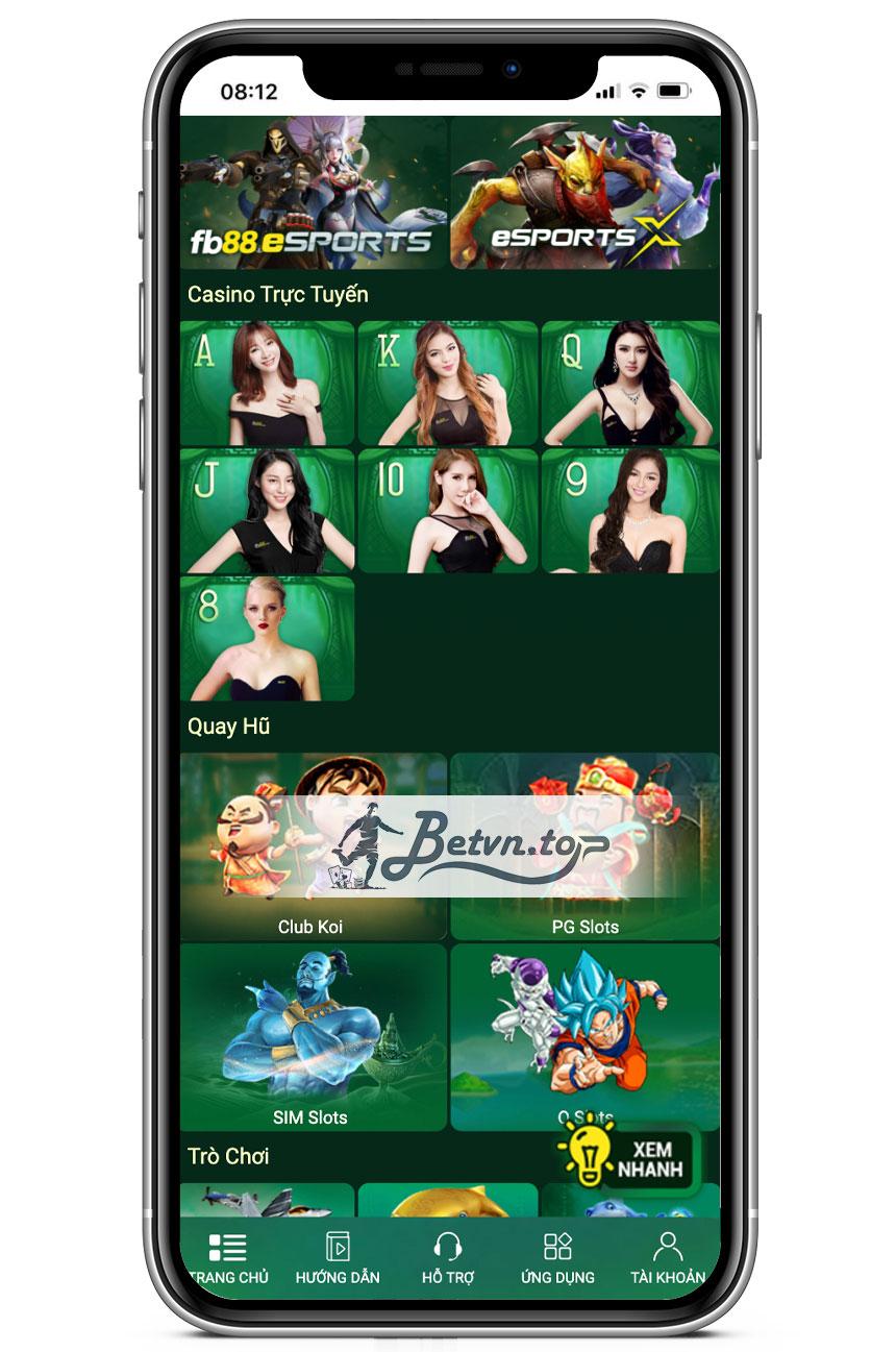 sòng bài casino fb88