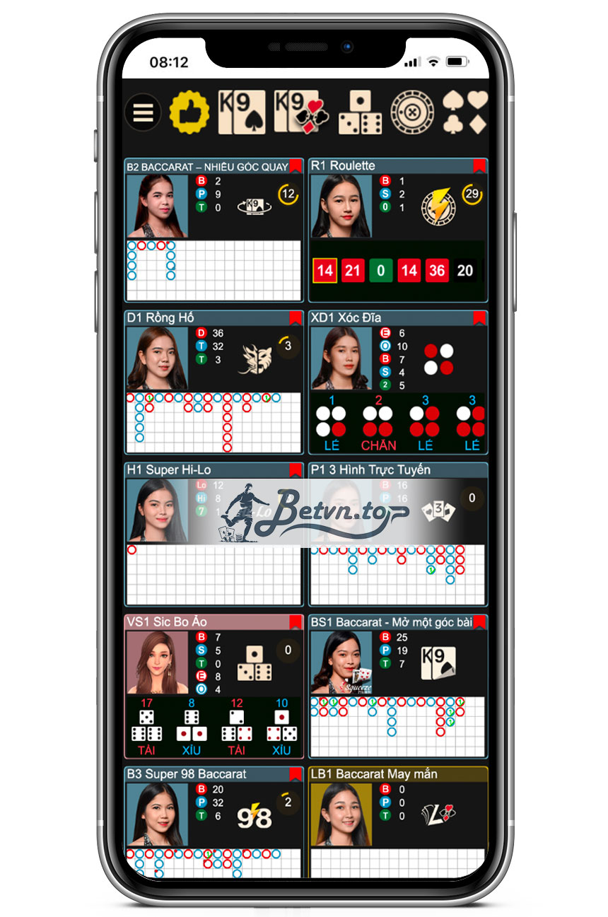 các trò chơi casino w88