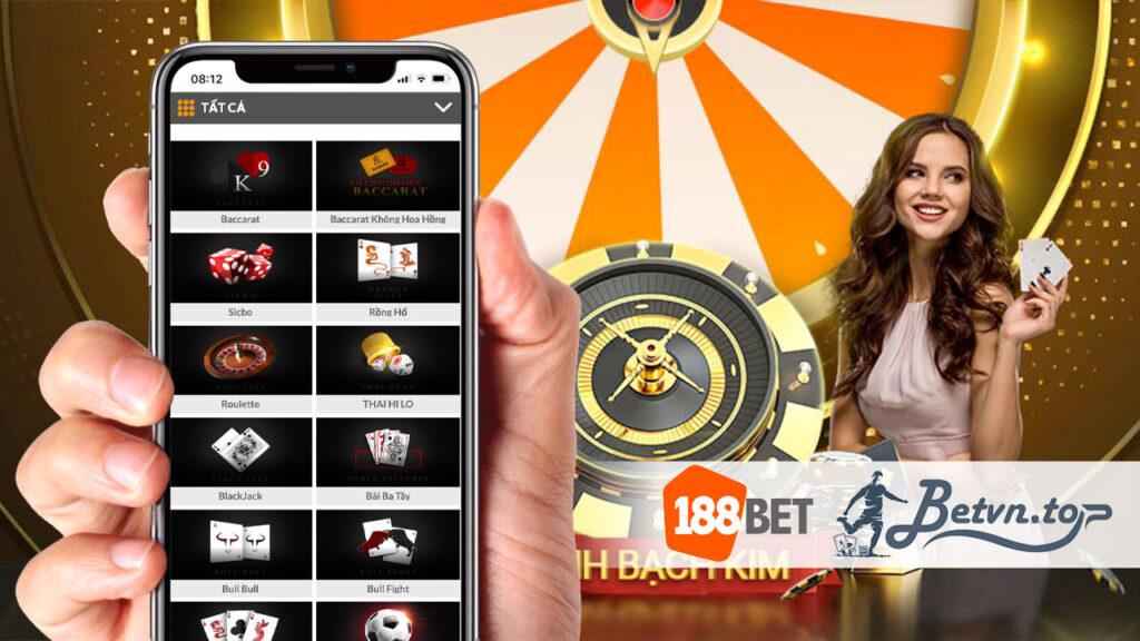 chơi casino 188bet
