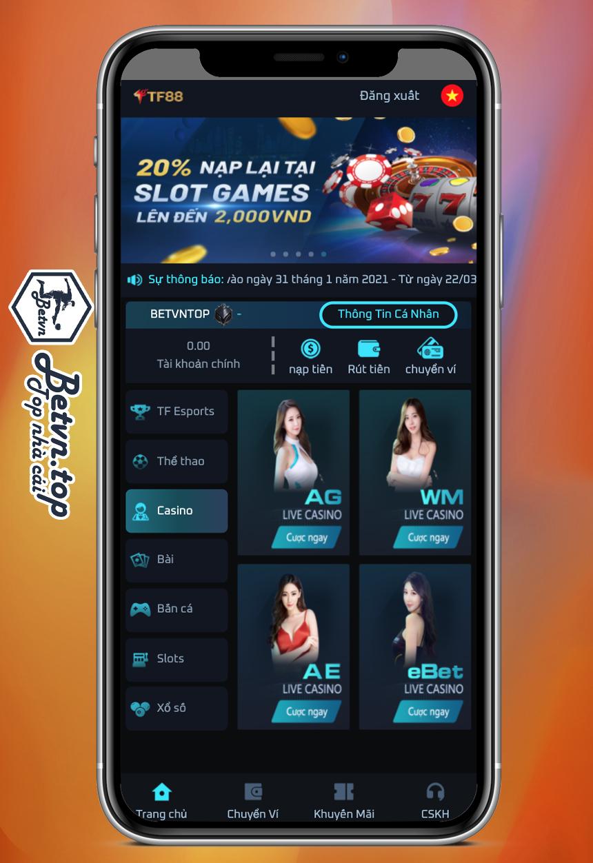 casino online nha cai tf88