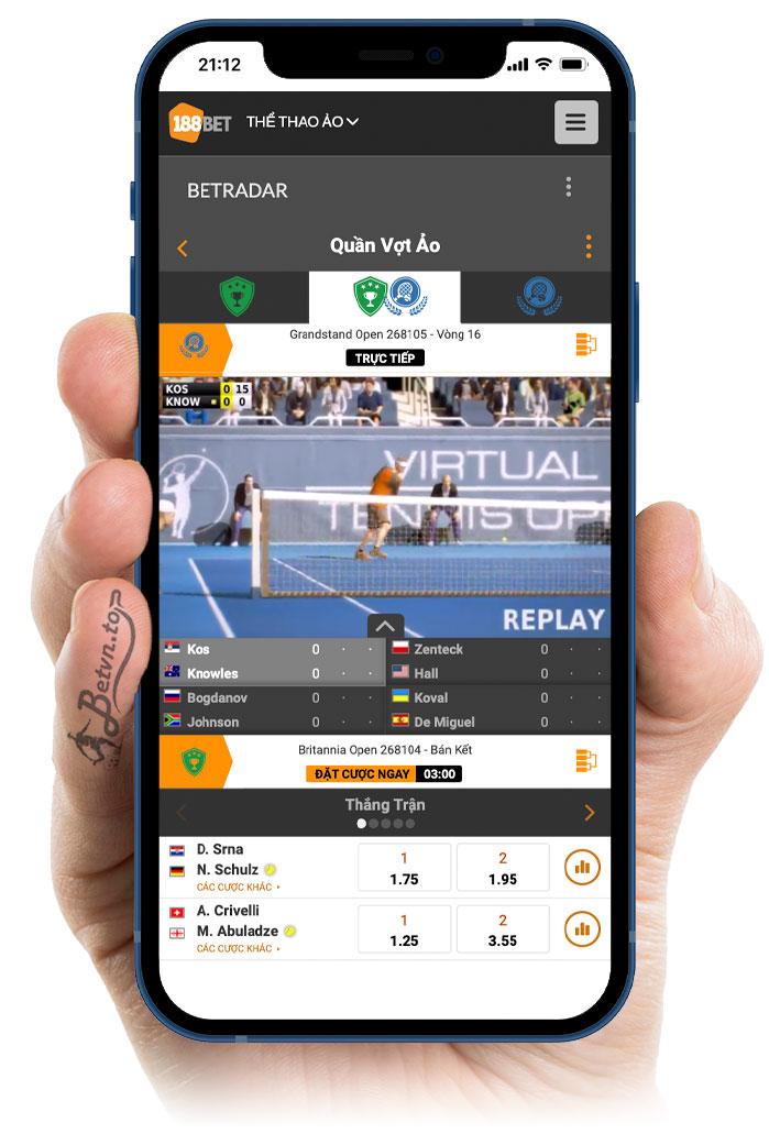 tennis 188 ao