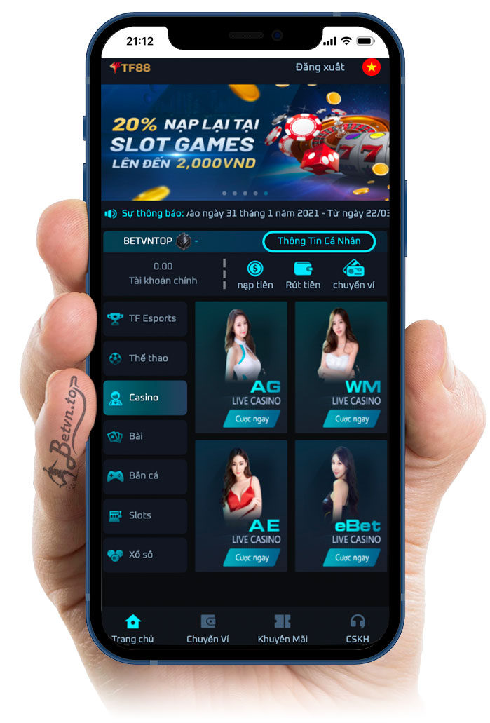 tf88 casino online