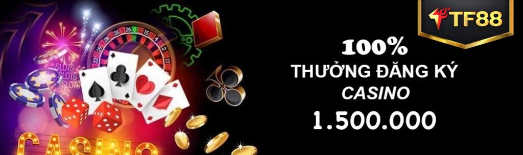 thưởng casino tf88
