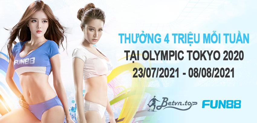 thưởng olympic fun88