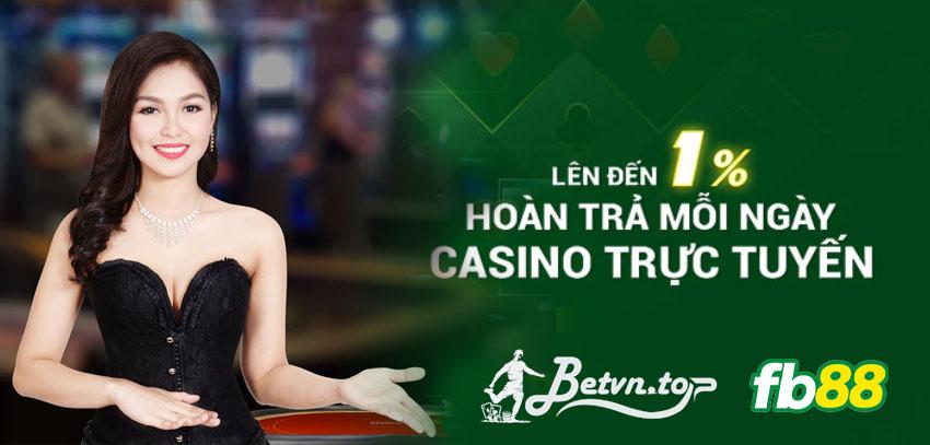 hoàn trả casino fb88