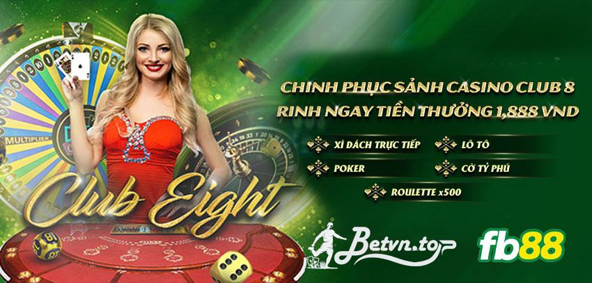 thưởng casino fb88
