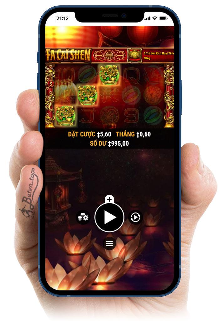 đồ hoạ slot game m88